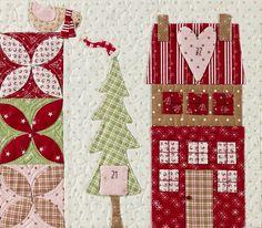 Mistletoe Lane Quilt by Anne Sutton of Bunny Hill Designs - Fat Quarter Shop
