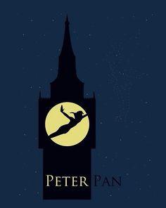 Peter Pan simplistic poster