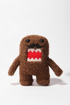I love Domo now he comes complete with a hipster mustache>>>>>>