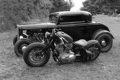 old skool, old school, custom, bobber, bike, motorcycle