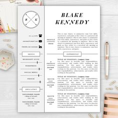 9 best monogram resume templates images on pinterest cover letter