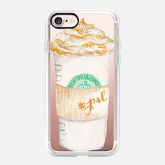 Pumpkin Spice Latte Starbucks Coffee Mug Watercolor
