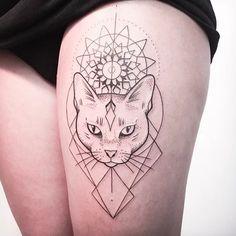 Melina Wendlandt - The Perfect Tattoo Artist For Linework Fans | Tattoodo