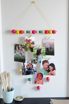 Kijk wat ik gevonden heb op Freubelweb.nl: een gratis werkbeschrijving van Project Kid om deze mooie fotohanger te maken https://www.freubelweb.nl/freubel-zelf/zelf-maken-met-kralen-fotohanger/