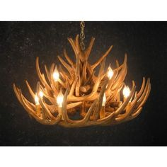 Whitetail 21 Antler Cascade Chandelier | Antler Chandeliers | Antlers Etc - Rustic Cabin, Lodge & Hunting Decor