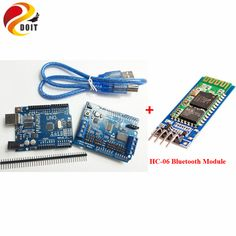 Robotic Controller Kit for Robot Tank Car Chassis with Servo Motor Driver Board HC-06 Bluetooth Module Compatible with Arduino