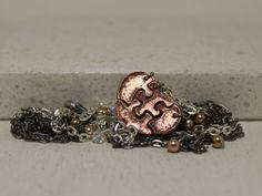 Heart Shaped Puzzle Set of 4 Bracelets by GirlwithaFrogTattoo, $125.00