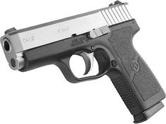 My new concealed carry: Kahr's CW9.  Landed the entire first magazine, ALL 7, in the bullseye!!