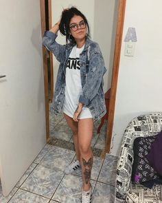Holiday Fashion, Trendy Fashion, Girl Fashion, Fashion Looks, Fashion Outfits, Crazy Outfits, Cool Outfits, Casual Outfits, Tattoo Asian