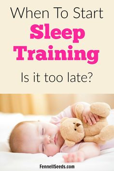 When to start sleep training | when can you start sleep training | when to start sleep training baby | what age to start sleep training | sleep training