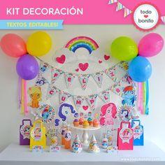 Pony: decoración de fiesta