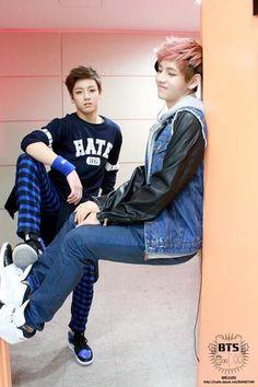 Jungkook and V :)