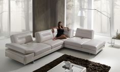Image result for Lux Sectional Sofa