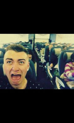 When you realize the guy who sings stay with me and lay me down is also your spirit animal. Gotta love sam smith