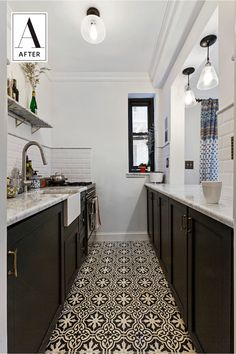 Before & After: A Tiny, Crumbling New York Kitchen Goes Classic — Sweeten
