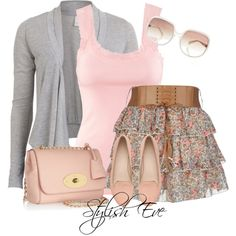 """This is beyond cute! Would so wear this. """"Noha"""" by stylisheve on Polyvore"""