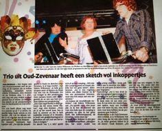 Mooi stuk in @Gelderlander over 3x nix is ook wat, een van onze artiesten tijdens de Pronkzittingsavonden. Oud-#Zevenaar. Vrijdag 10 januari 2014. via twitter @Nachtuulen.