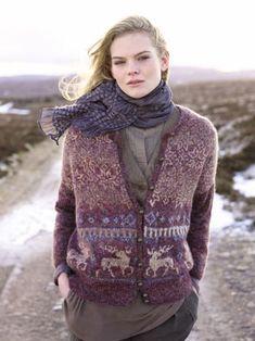 From the Rowan book Nordic Tweed Rowan Knitting, Rowan Yarn, Knitting Books, Fair Isle Knitting, Punto Fair Isle, Tweed, Fair Isle Pattern, Pullover, Knitting Patterns Free