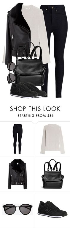 Untitled #4061 by maddie1128 on Polyvore featuring Helmut Lang, La Bête, Rodarte, New Balance, Givenchy and Yves Saint Laurent