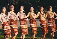 Igorot dance Modern Filipiniana Gown, Filipiniana Wedding, Ribbon Png, Camo Wallpaper, Philippines Culture, Filipino Culture, Ethnic Outfits, Folk Dance, Asian History