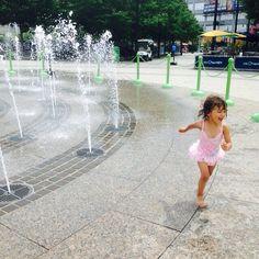 Little sis having fun