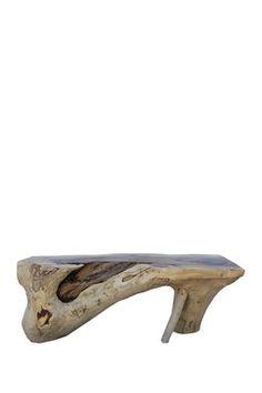 Reclaimed Acacia Wood Bench