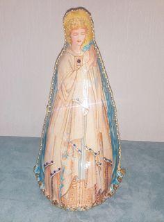 Christmas crib,  nativity scene, Jesus Marie Joseph  Angel Magi , Art dolls Soft doll Cloth doll Fabric doll, Religious icon antique style