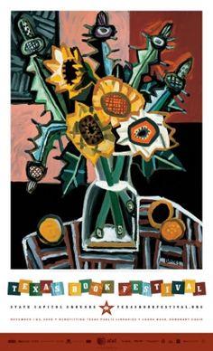2008 Texas Book Festival poster