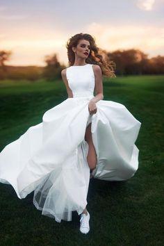 Свадебное платье «Денвер» Ариамо Брайдал— купить в Москве платье Денвер из коллекции 2017 года
