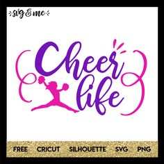 Cheer Life Pink and Purple