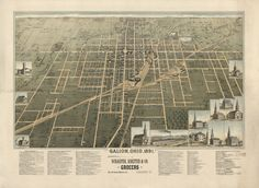 My birthplace - Galion, Ohio - 1891