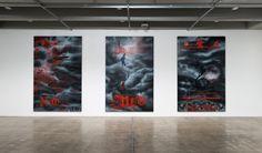 Shane Cotton: The Hanging Sky School Art Projects, Art School, Brisbane, Art Gallery, Sky, Artists, Cotton, Painting, Inspiration