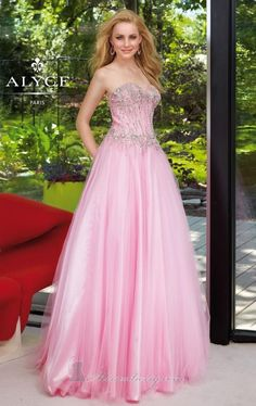 Couture Tulle A-line Sweetheart Strapless Ball Gown Embellished [6103]