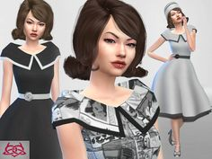 retro and my real creation inspiration  Found in TSR Category 'Sims 4 Sets'