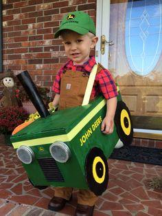 John Deere tractor costume.