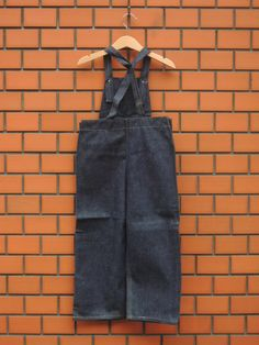 16fab2b824ee5 20 〜 30 s Denim Overall for KID s - deadstock  container