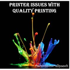 {#EllipsesoftTechSupport} #PrinterIssues Keep Your #Printer Healthy With our Support Call Toll Free:1-888-333-9003
