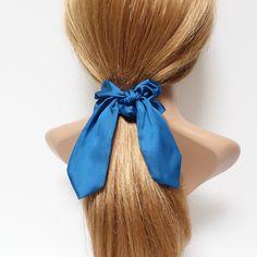 Nouveau Pretty Femme Enfants cheveux nœud brillant band scrunchie cheval cadeau de partie
