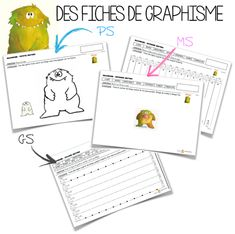 Maternelle Grande Section, Petite Section, Ms Gs, Etiquette, Notebook, Bullet Journal, Education, Conte, Montessori