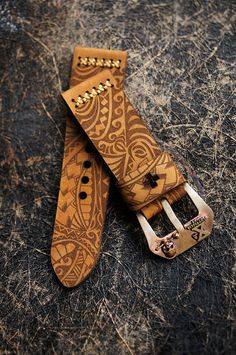 Maori Tatoo watch strap