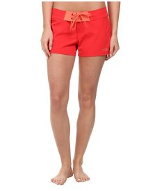 THE NORTH FACE THE NORTH FACE - PACIFIC CREEK BOARDSHORT (TOMATO RED) WOMEN'S SWIMWEAR. #thenorthface #cloth #