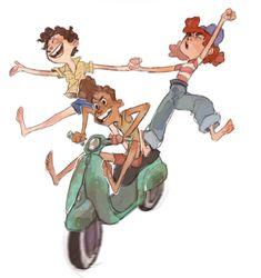 Pixar Movies, Disney Films, Disney Art, Disney Pixar, Lucas Movie, Lucas Arts, Concept Art Tutorial, Boy Fishing, Fanart