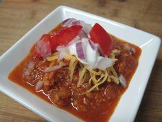 dukan diet recipe Easy Beanless Chili