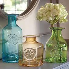 Dartington flower bottles
