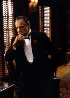 """""""The Godfather"""" Marlon Brando 1971 Paramount Corleone Family, Don Corleone, Fredo Corleone, Godfather Quotes, Godfather Movie, Al Pacino, Marlon Brando The Godfather, The Godfather Wallpaper, 1920s Gangsters"""
