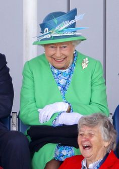 Pictures of the British Royals Laughing | POPSUGAR Celebrity