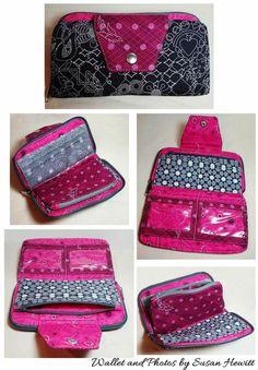 Beresford Zip Around Wallet | Craftsy