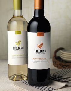 Fielding Estate Winery Wine Label & Package Design by CF Napa Brand Design