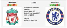 Next week brings one of Liverpool F.C's biggest matches of the EPL season in the new year. Follow our free betting tips for Liverpool vs. Chelsea - English Premier League  and you can increase your betting winnings! Liverpool vs. Chelsea -  Premier League Preview & Tips Match Date: 31 January 201