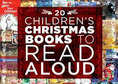 20 Children's Christmas Books to Read Aloud. Heartwarming stories of the season that children and adults will love. Childrens Christmas Books, Childrens Books, Magical Christmas, Kids Christmas, Christmas 2014, Merry Christmas, Children's Literature, Read Aloud, Book Lists